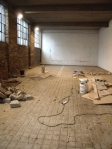 cleared gallery space 1