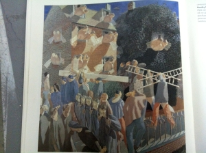 stanley spencer christ carrying the cross