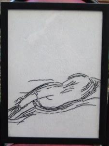 sleeping 35x46